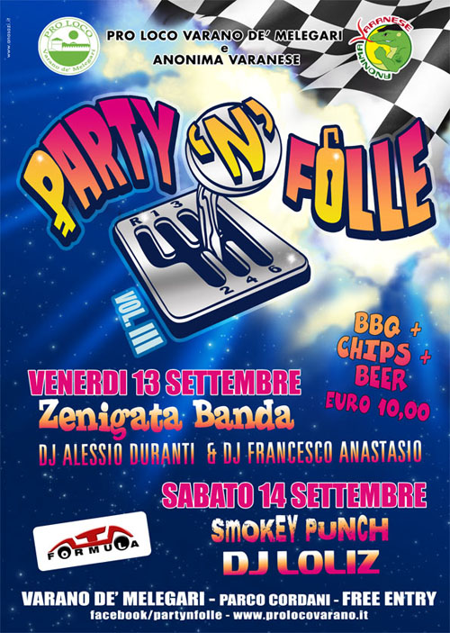 PARTY'N'FOLLE 2013