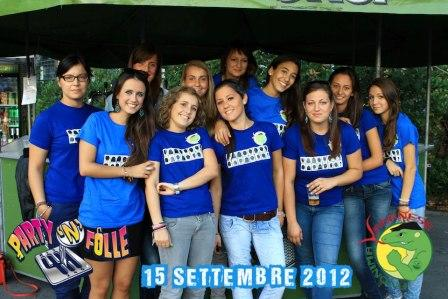 Le ragazze di part'in folle